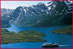 Rundreise / St�dtereise / Ferienhaus - Hurtigruten - Hurtigruten Postschiffreise - Bergen-Kirkenes-Trondheim