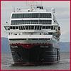 trollfjord, postschiff